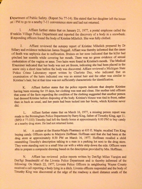 Search Warrant, p. 3 of 8