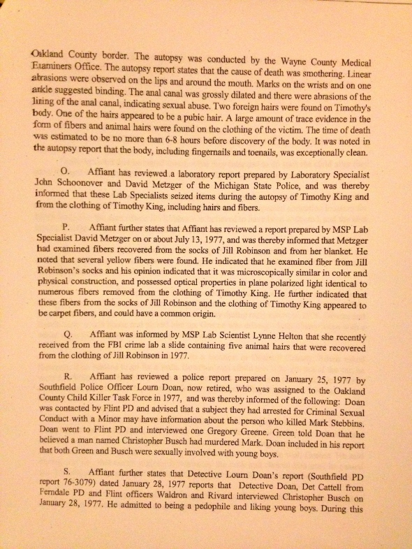 Search Warrant, p. 4 of 8