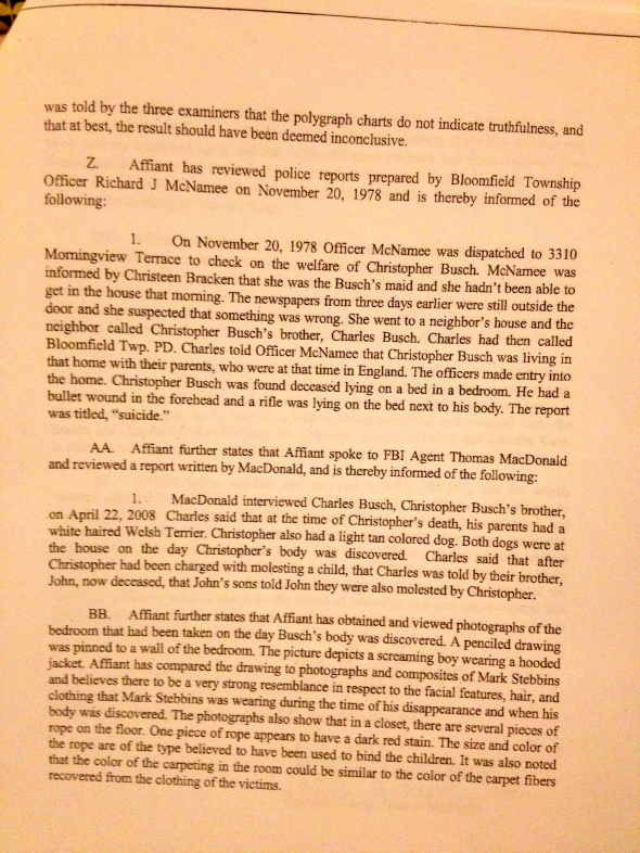 Search Warrant, p. 7 of 8